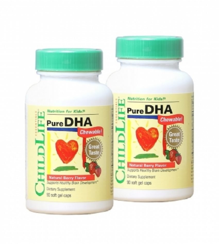 Childlife童年时光 婴儿DHA 宝宝鱼油 婴幼儿营养品 儿童补脑 (23年1月到期)