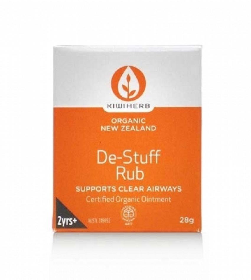 KiwiHerb 有机草本 四季抗病毒感冒身体膏 28g Kiwi Herb De-Stuff Rub 28g