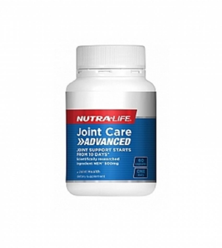 Nutralife纽乐 加强版速效关节灵 60粒 Nutralife Joint Care Advanced  60Cap