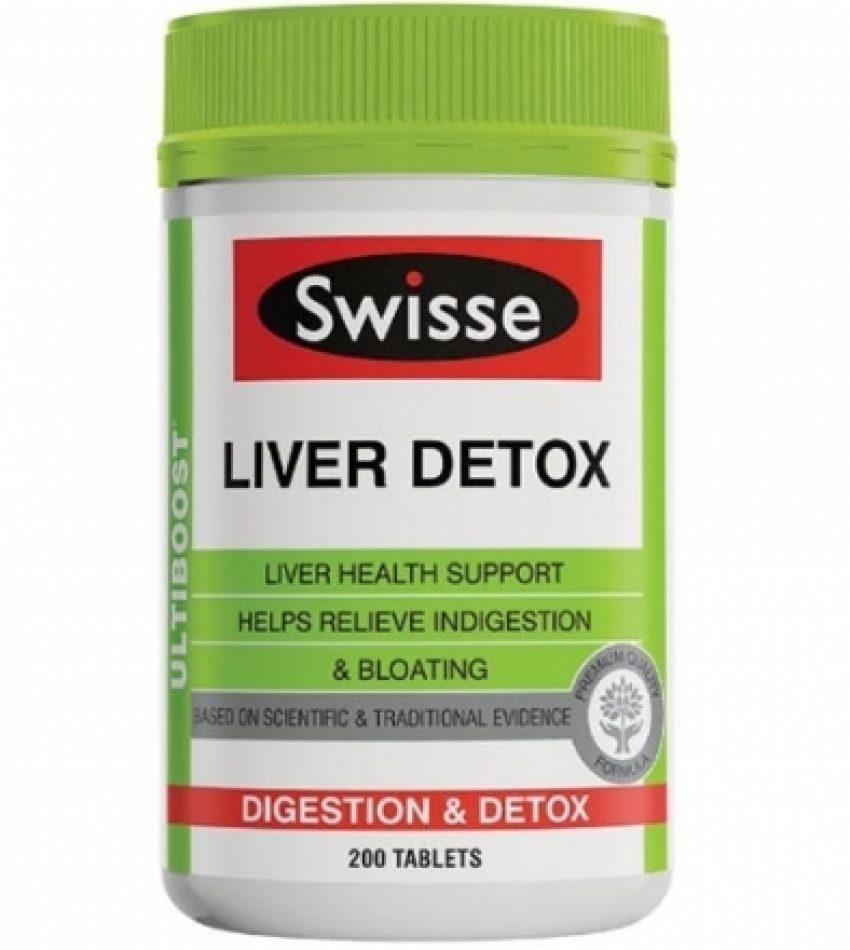 Swisse 护肝排毒片 护肝宝 200片 Swisse Liver Detox 200Tab
