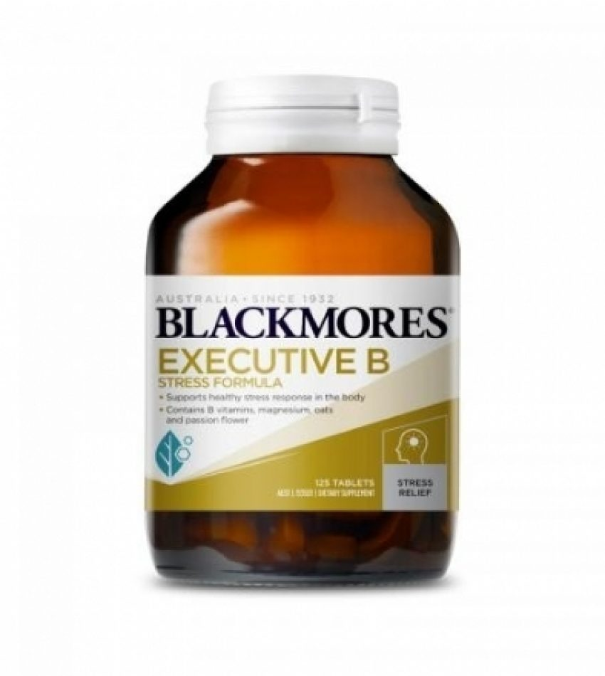Blackmores澳佳宝 B族维生素 160 片 BLACKMORES EXECUTIVE B STRESS FORMULA 160 TAB, [新包装]
