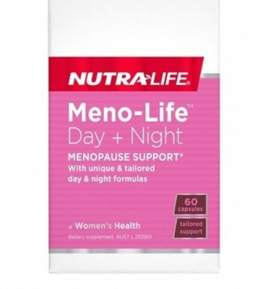 Nutralife纽乐 更年期平衡调理保健缓解潮热片大豆异黄酮 60C NUTRA LIFE MENO-LIFE 60 CAP
