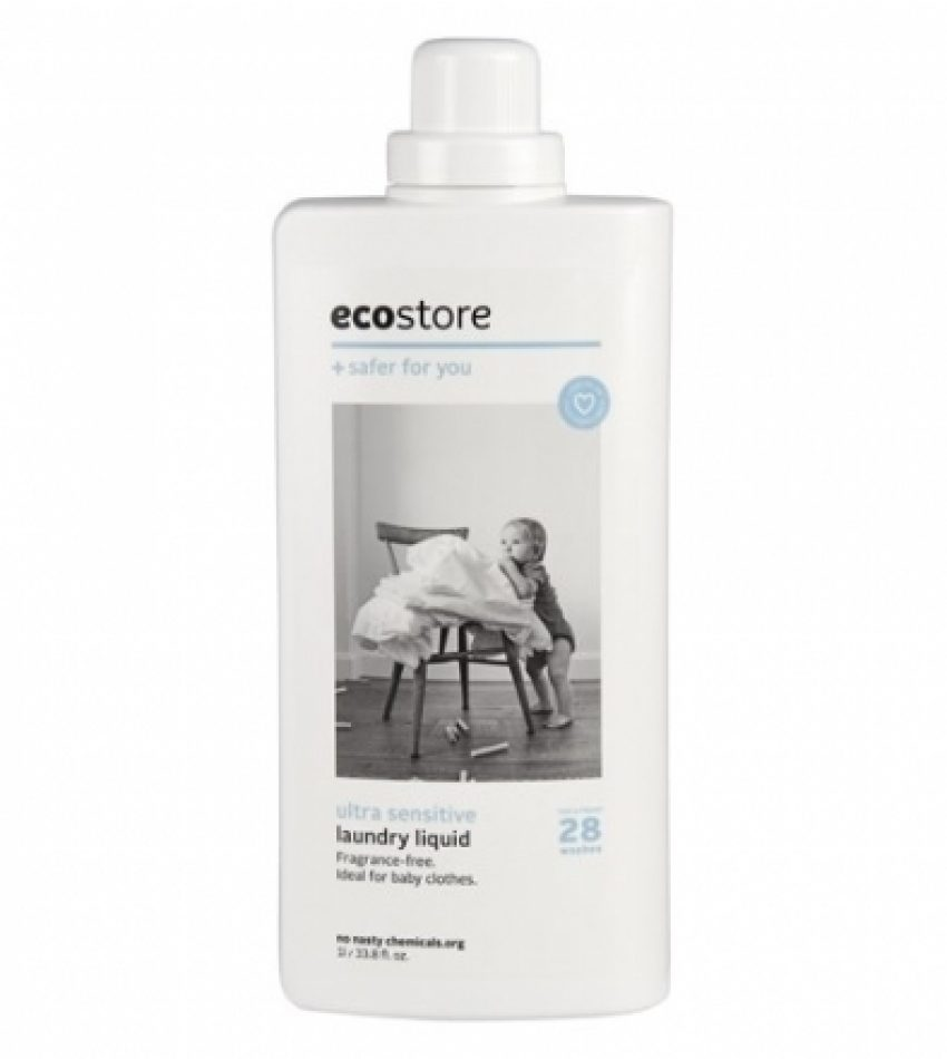 Ecostore植物提取洗衣液 无香味 1L Ecostore ultra sensitive laundry liquid 1L
