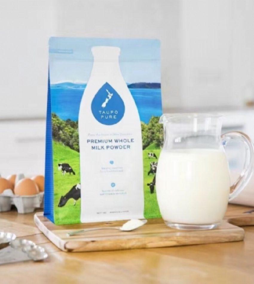 【包邮】Taupo Pure 特贝优陶波奶粉 1kg*6袋 Taupo Pure Premium Milk Powder 1kg*6袋, (全脂 / 脫脂 / 混装 , 3种可选)(22年2月到期)
