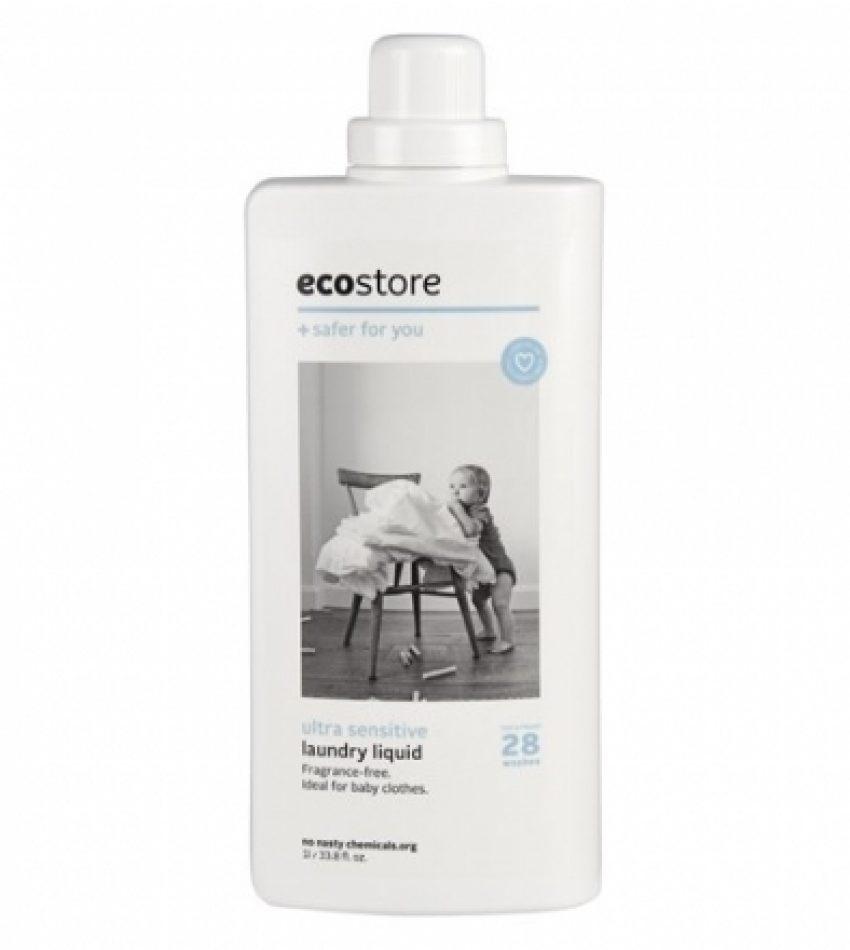 Ecostore植物提取洗衣液 无香味 1L Ecostore ultra sensitive laundry liquid 1L