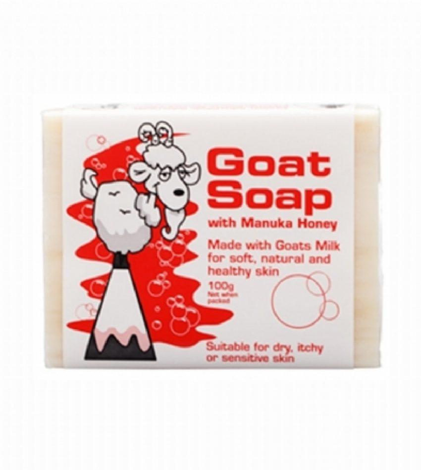 Goat Soap  山羊奶手工皂 含麦卢卡蜂蜜 100g Goat Soap with Manuka Honey 100g