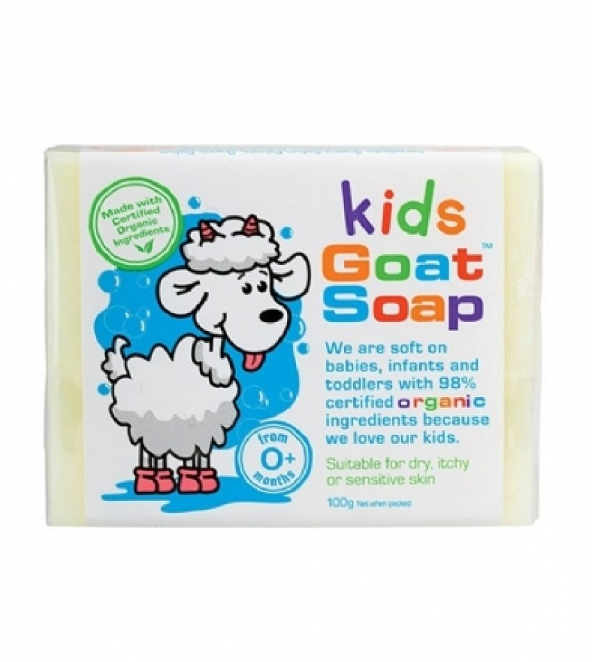 Goat Soap 山羊奶儿童手工皂 100 Kids Goat Soap 100g