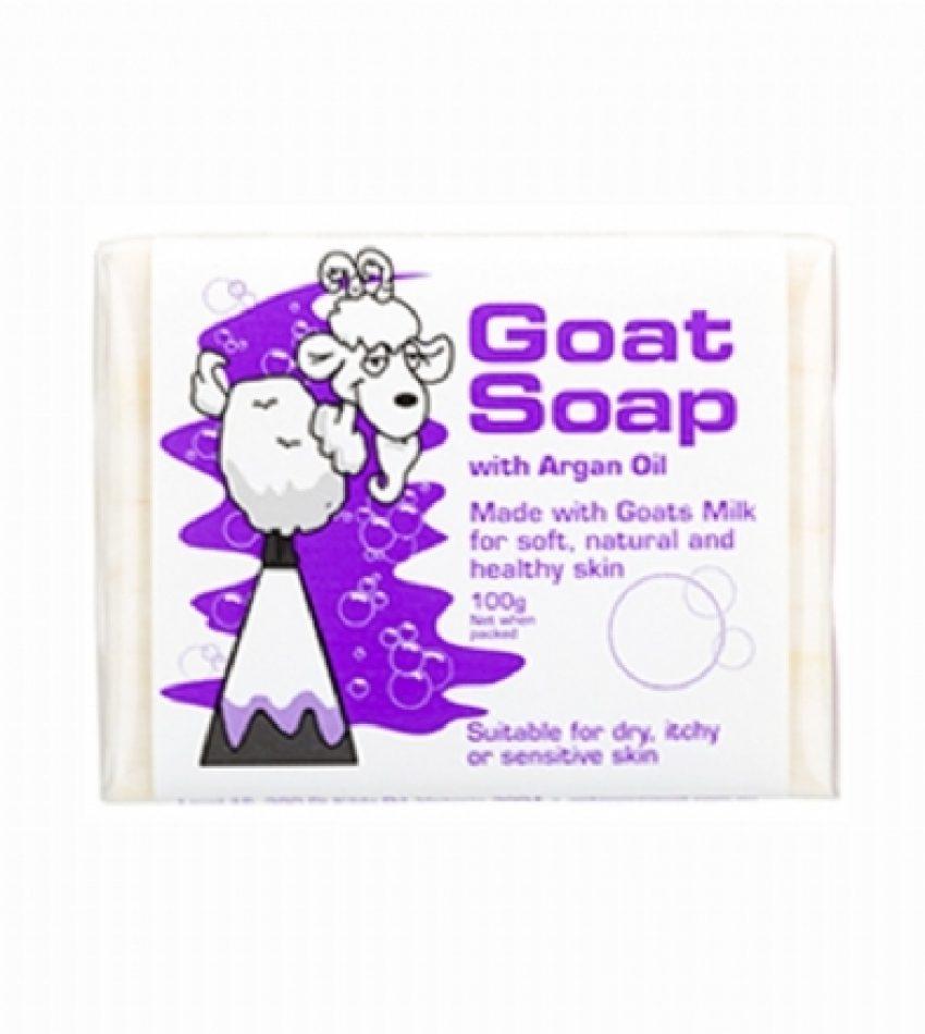 Goat Soap 山羊奶手工皂 含摩洛哥油 100g Goat Soap with Argan Oil 100g