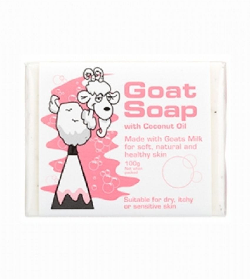 Goat Soap 山羊奶手工皂 含椰子油 100g Goat Soap with Coconut Oil 100g