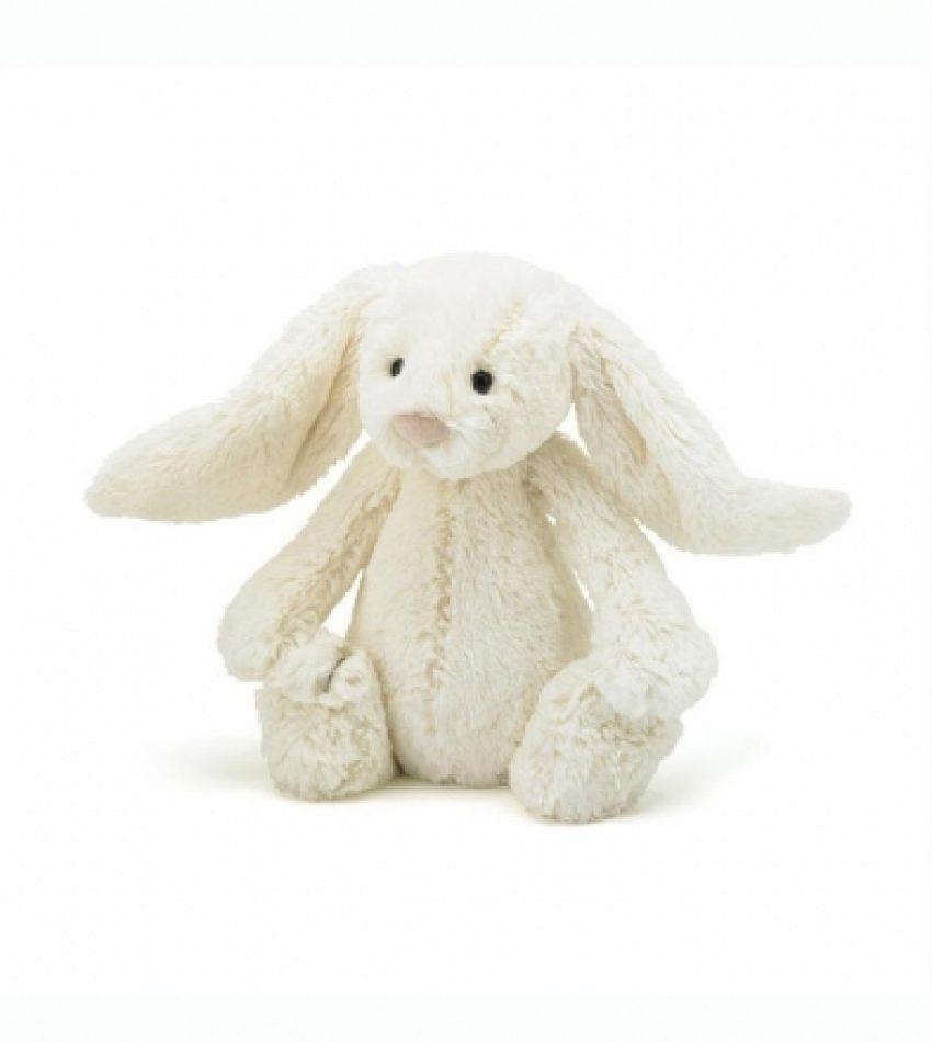 Jellycat 中号害羞邦尼兔 奶白色                                                 兔子                           Jellycat Medium Blossom Cream Bunny
