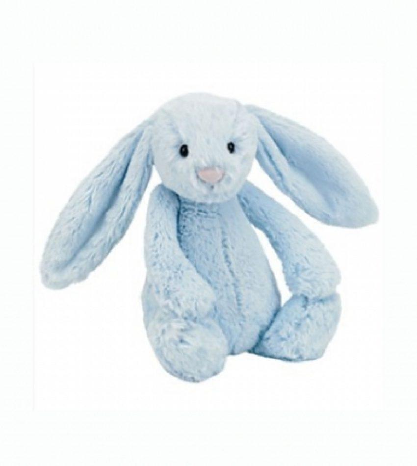 Jellycat 中号害羞邦尼兔 天蓝色              兔子                                                                       Jellycat Medium Blossom Blue Bunny