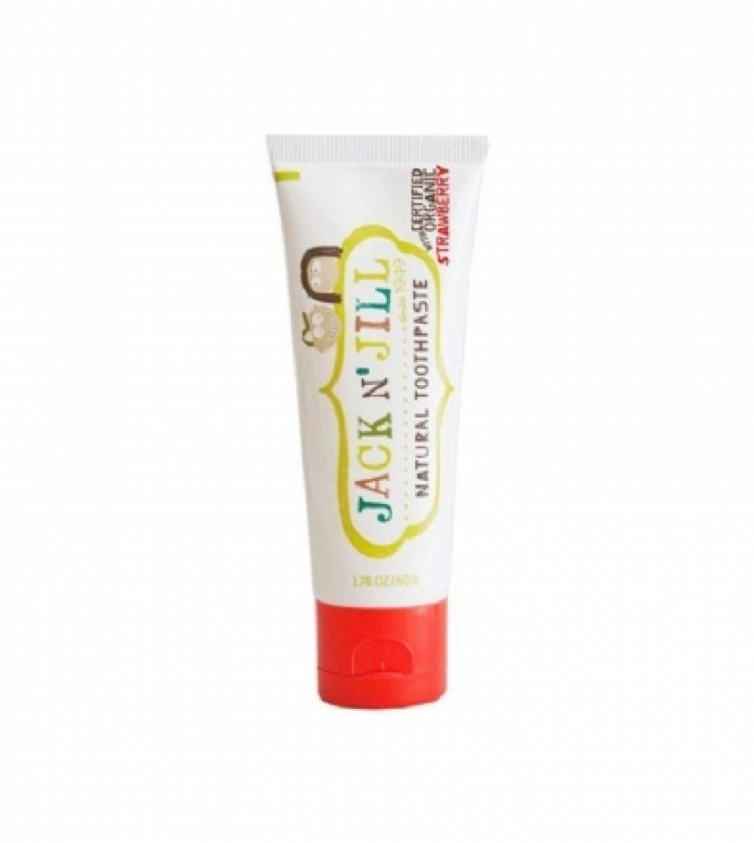 Jack N' Jill 有机无氟可吞 儿童水果牙膏 50g 多种口味 Jack N' Jill Natural Toothpaste 50g