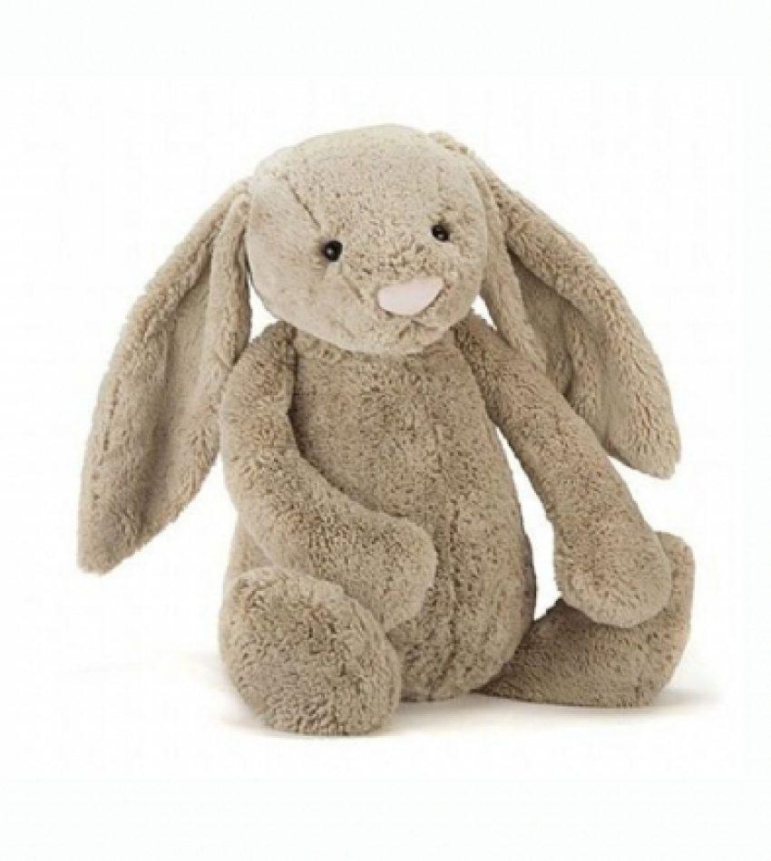 Jellycat 巨大号害羞邦尼兔 浅棕色  兔子 Jellycat Really Big Bashful Beige Bunny