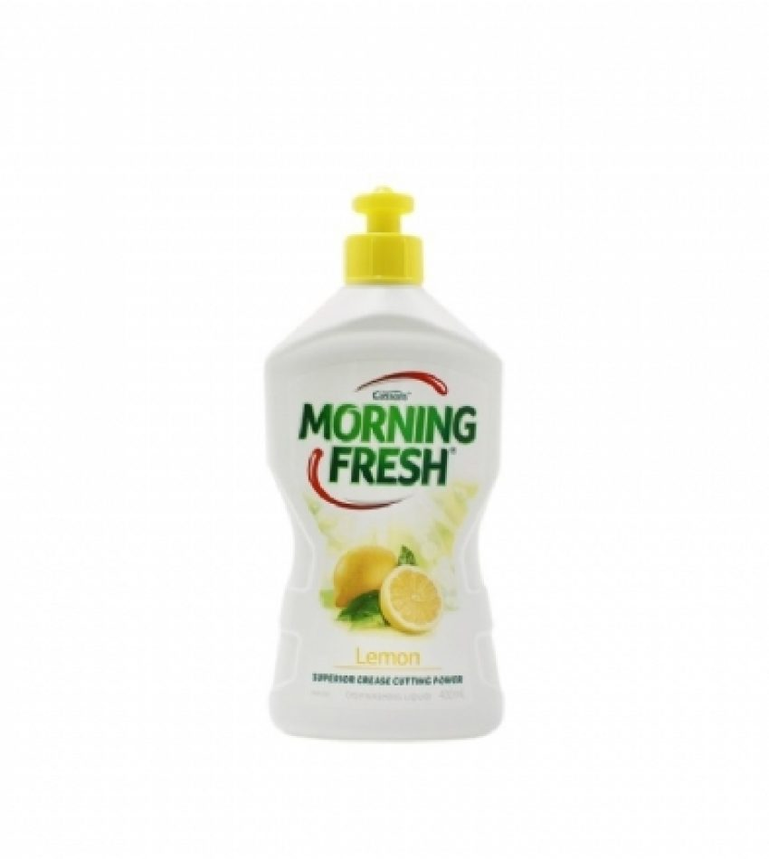 Morning Fresh 高倍 超浓缩 环保洗洁精 柠檬味 400ml Morning Fresh Dishwashing Liquid Lemon Fresh 400ml