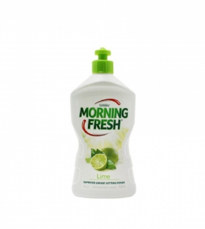 Morning Fresh 高倍 超浓缩 环保洗洁精 青柠味 400ml Morning Fresh Dishwashing Liquid Lime Fresh 400ml