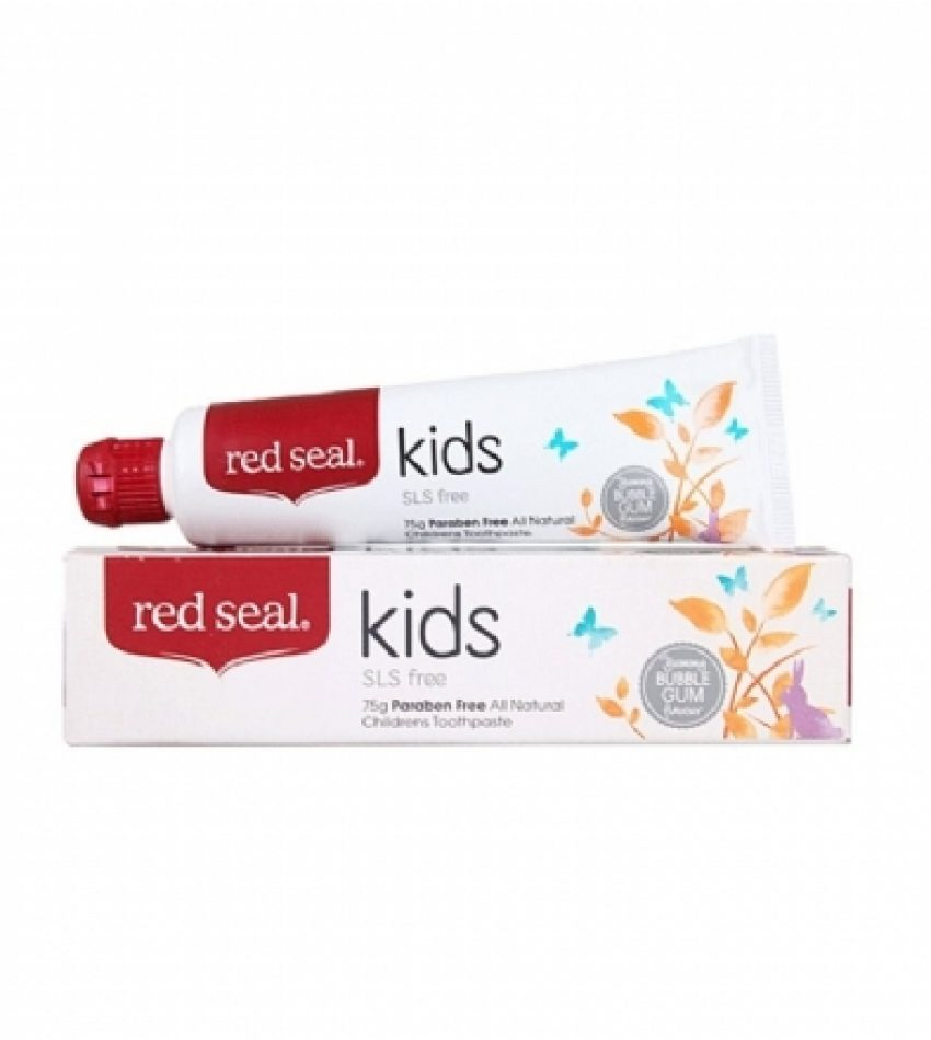 Red Seal红印 儿童牙膏 可吞咽 75g Red Seal Natural Kids Toothpaste 75g