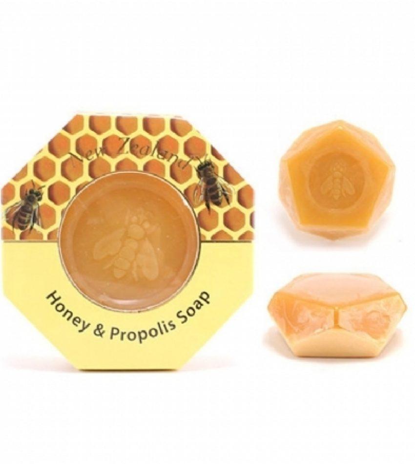 Wild Ferns Parrs帕氏 麦卢卡蜂蜜蜂胶皂140g