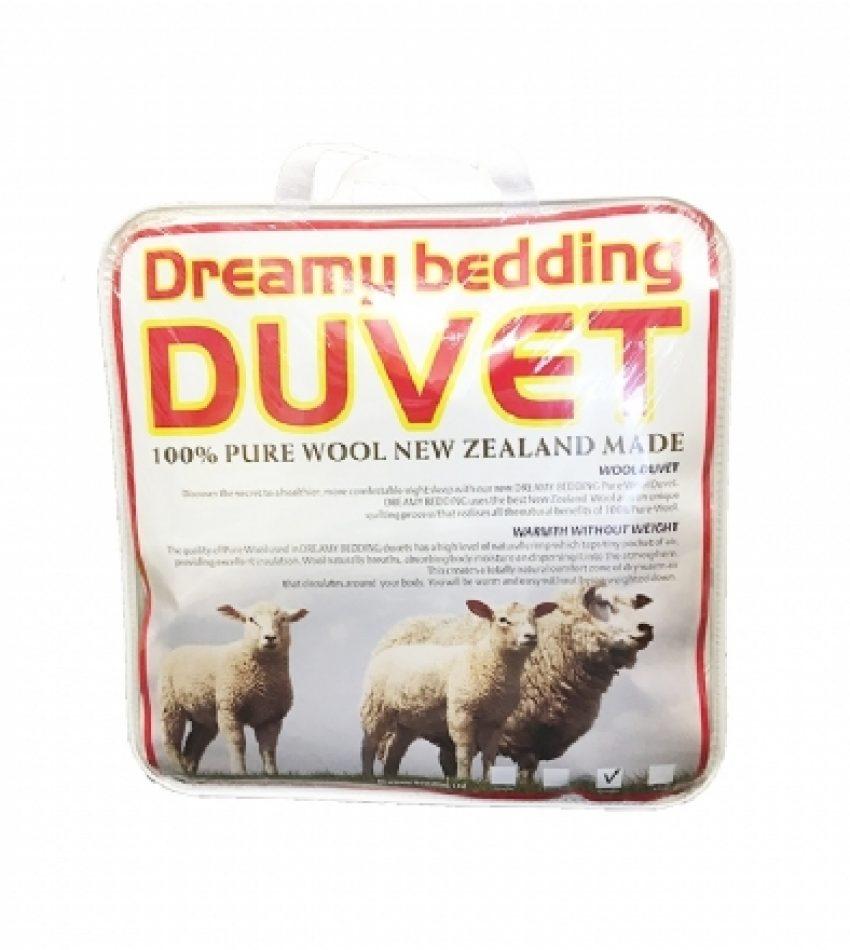 公主牌 羊毛被 100% 纯羊毛 被子 Princess Wool/Dreamy Bedding Duvet 550gms