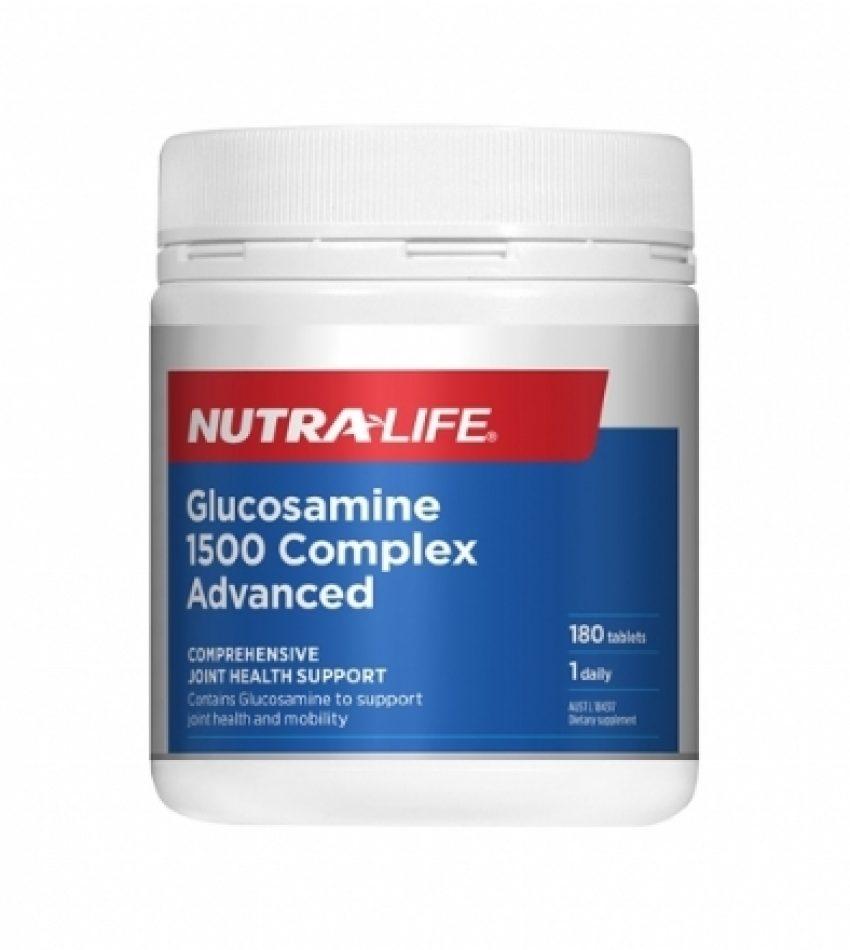 Nutralife纽乐 维骨力180粒 Nutralife Glucosamine 1500 Complex Advanced, [新包装] 180 CAP