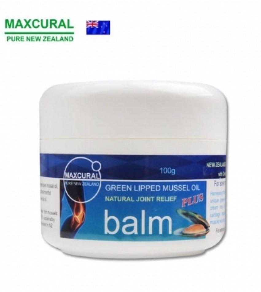 新西兰MAXCURAL绿唇贻贝青口素关节修复膏 缓解关节炎关节劳损关节风湿100g