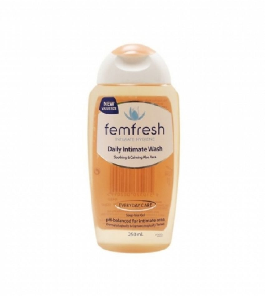 Femfresh洗液 洋甘菊味 日常款 250ml 无皂温和中性 Femfresh Daily Intimate Wash 250ml