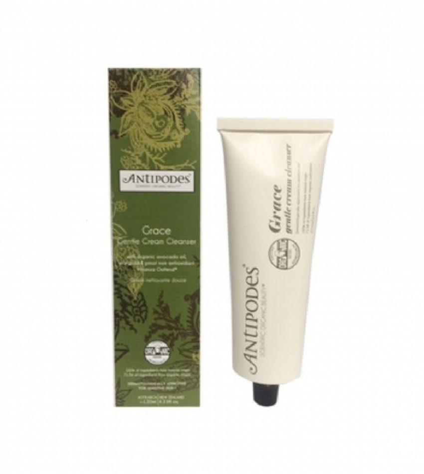 Antipodes安蒂碧斯 温和洁面乳敏感肌肤推荐使用 120ml Antipodes Grace Gentle Cream Cleanser (Organic) 120ml