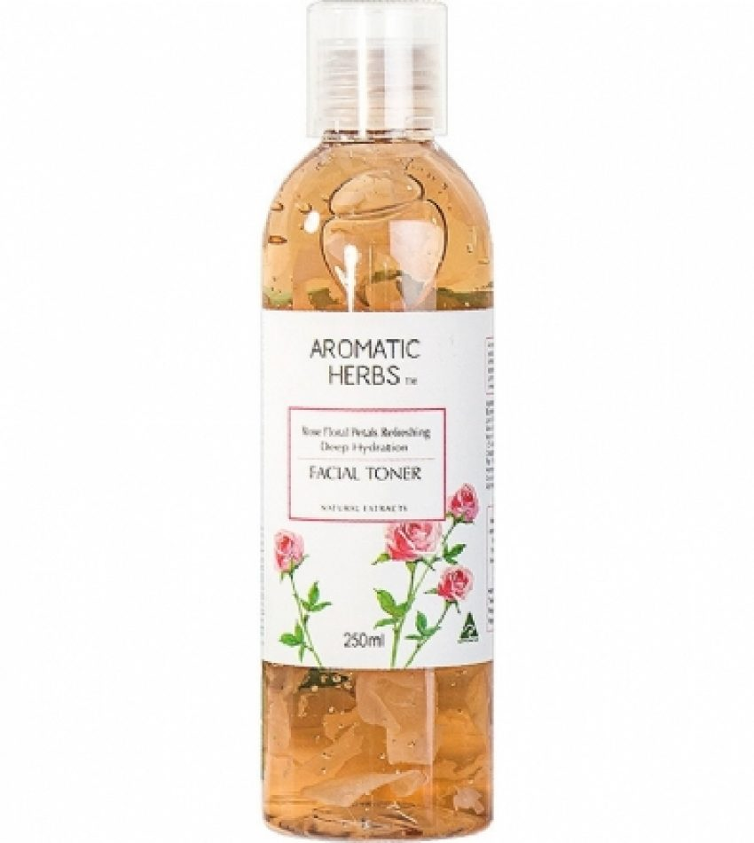 Aromatic Herbs玫瑰花瓣精华水 250ml Aromatic Herbs Facial Toner 250ml