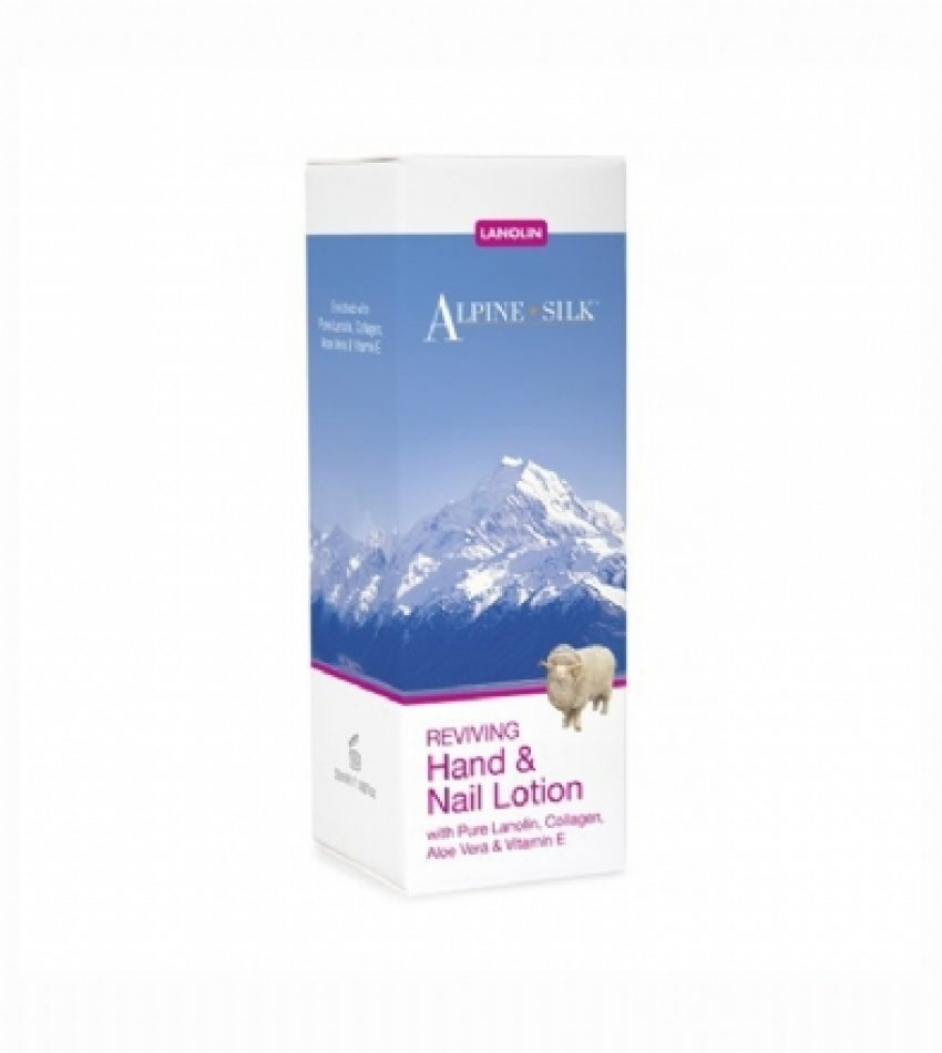 Alpine Silk艾贝斯 绵羊油滋养护手霜 50ml Alpine Silk Lanolin Reviving Hand&Nail Lotion 50ml