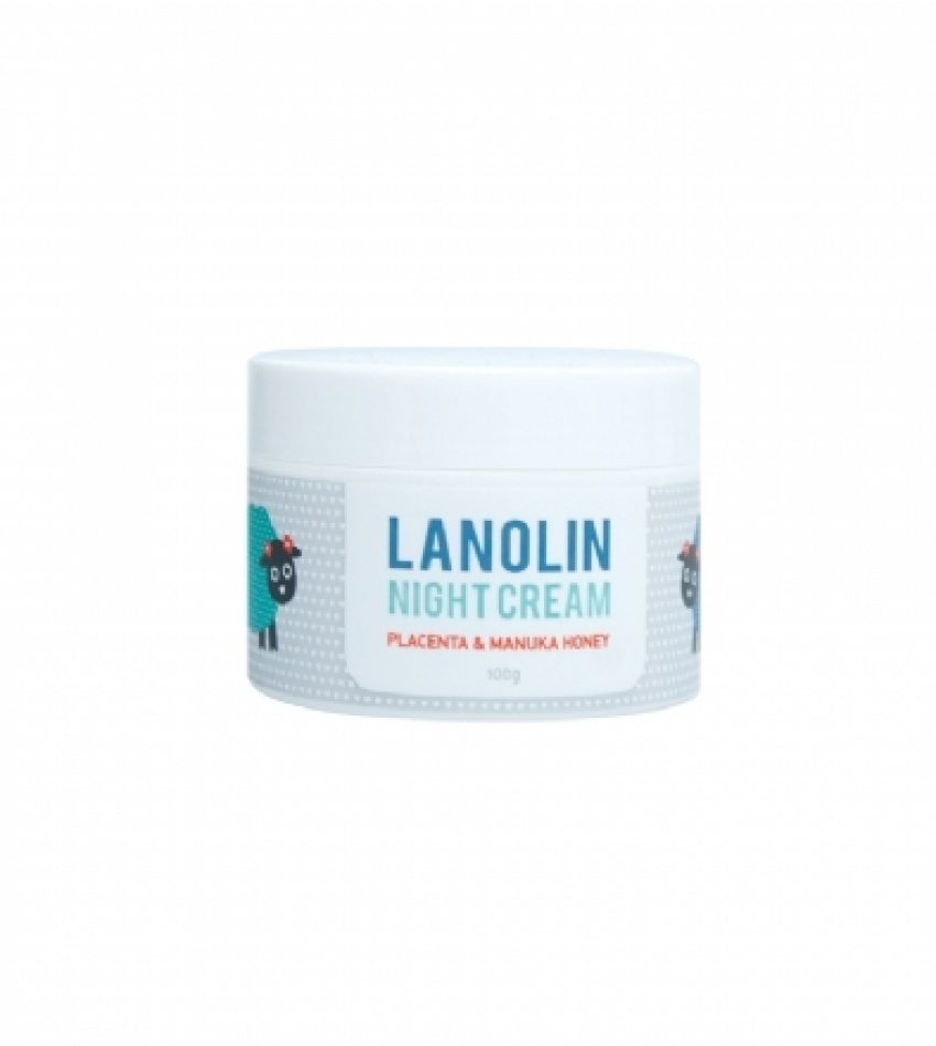 DQ 小绵羊晚霜 100g DQ&CO LANOLIN NIGHT CREAM 100 g