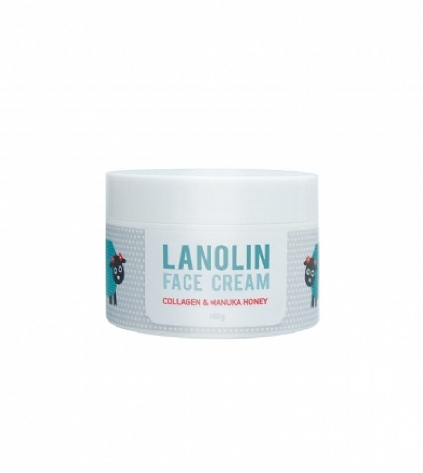 DQ 小绵羊脸霜 100g DQ&CO LANOLIN FACE CREAM 100 g