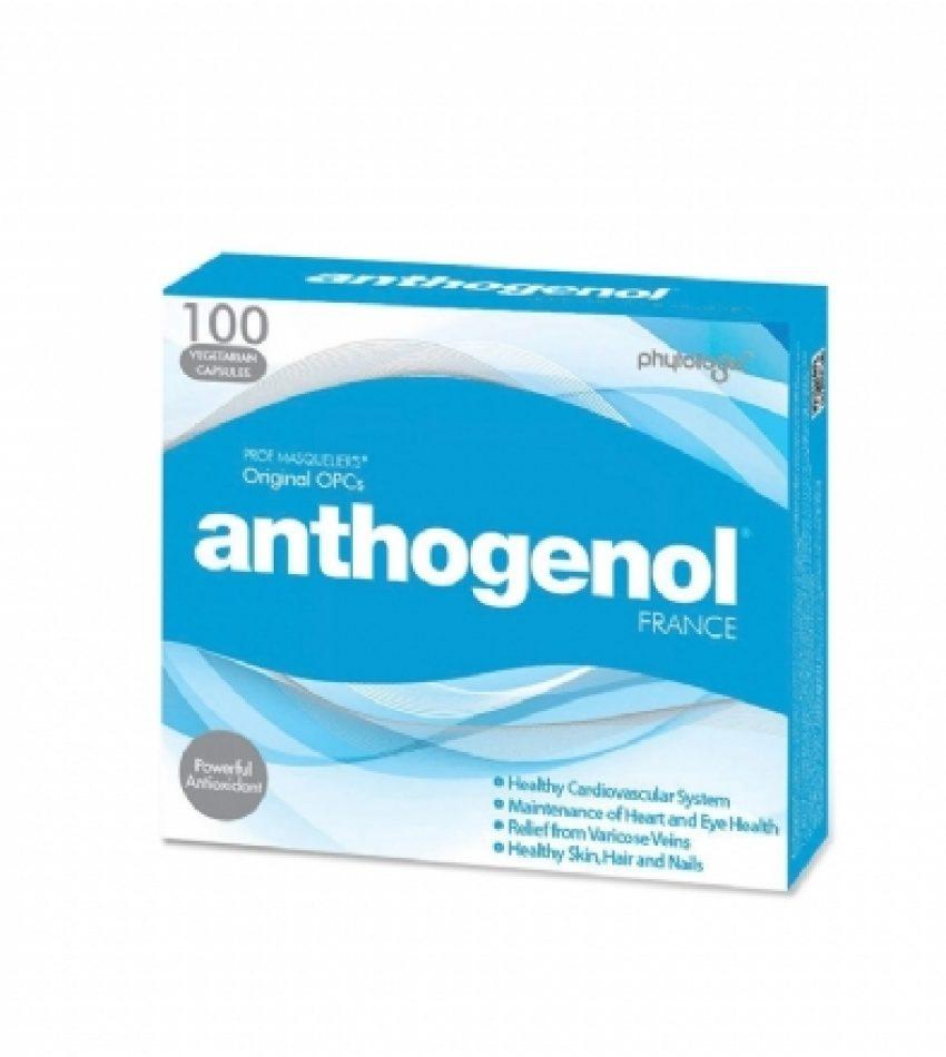 Anthogenol 月光宝盒花青素葡萄籽精华 100粒 抗氧化 Anthogenol 100cap
