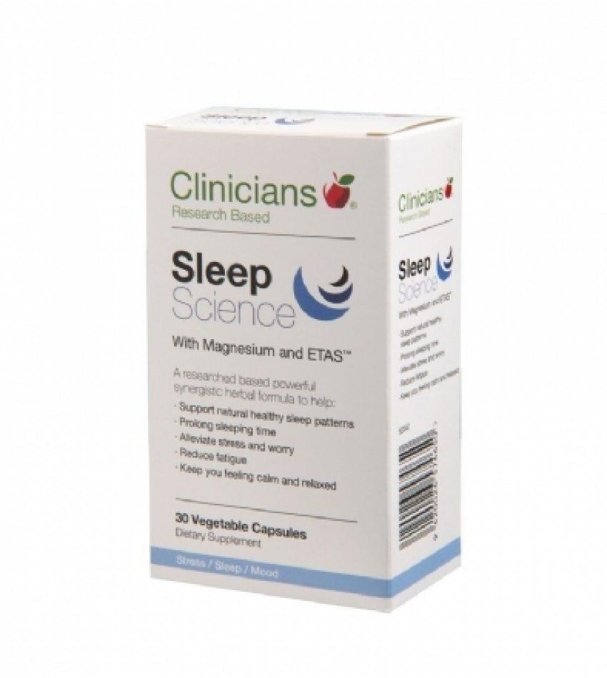 Clinicians科立纯 睡眠片含镁& ETAS 30粒 Clinicians sleep science(22年7月到期)