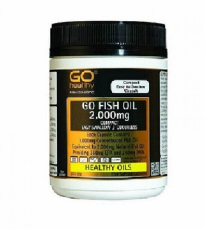 Go Healthy高之源 深海鱼油 超高含量2000mg 230粒