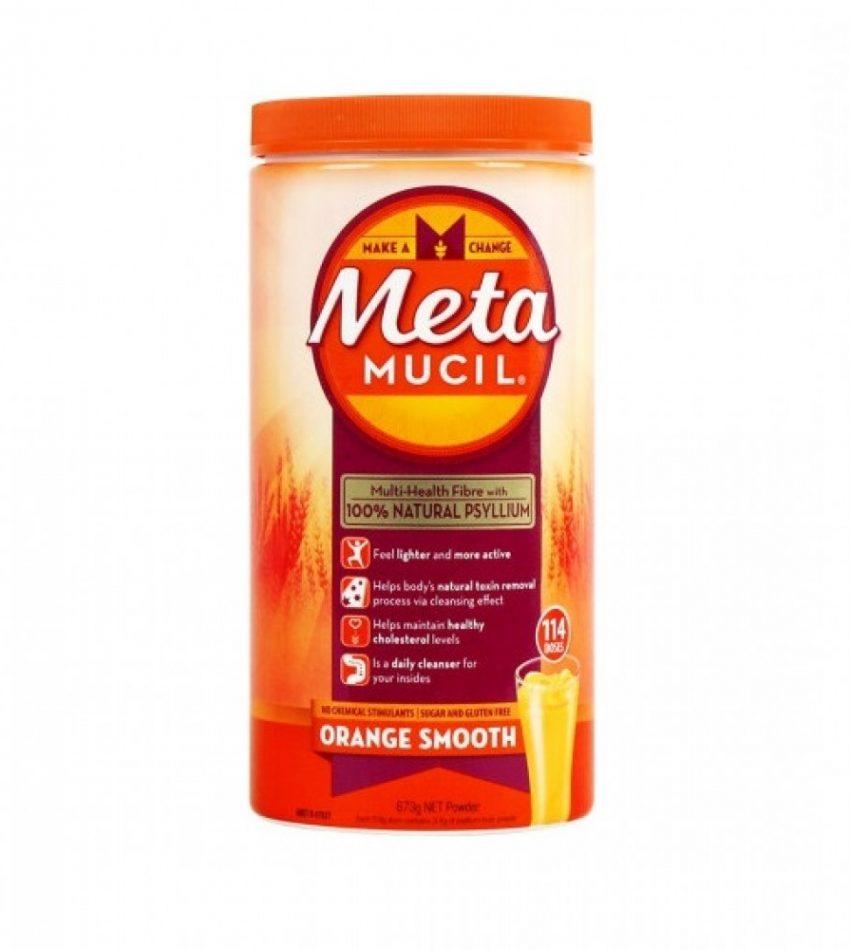 Metamucil 美达施 膳食纤维粉香橙味 114次