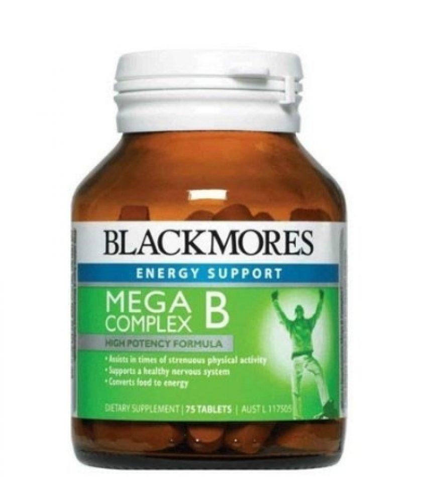Blackmores澳佳宝 多元B族维生素 Mega B Complex 75粒