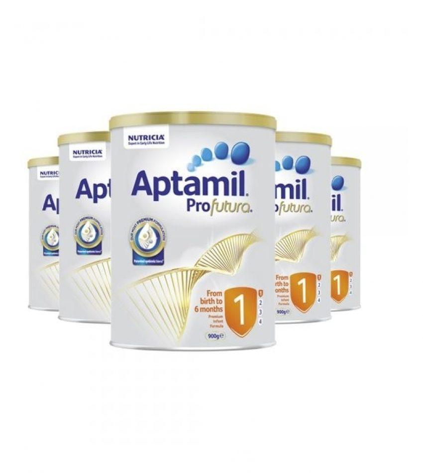 【包邮】Aptamil爱他美 铂金装婴儿配方奶粉 1段*6罐(0-6个月)(22年4月到期)