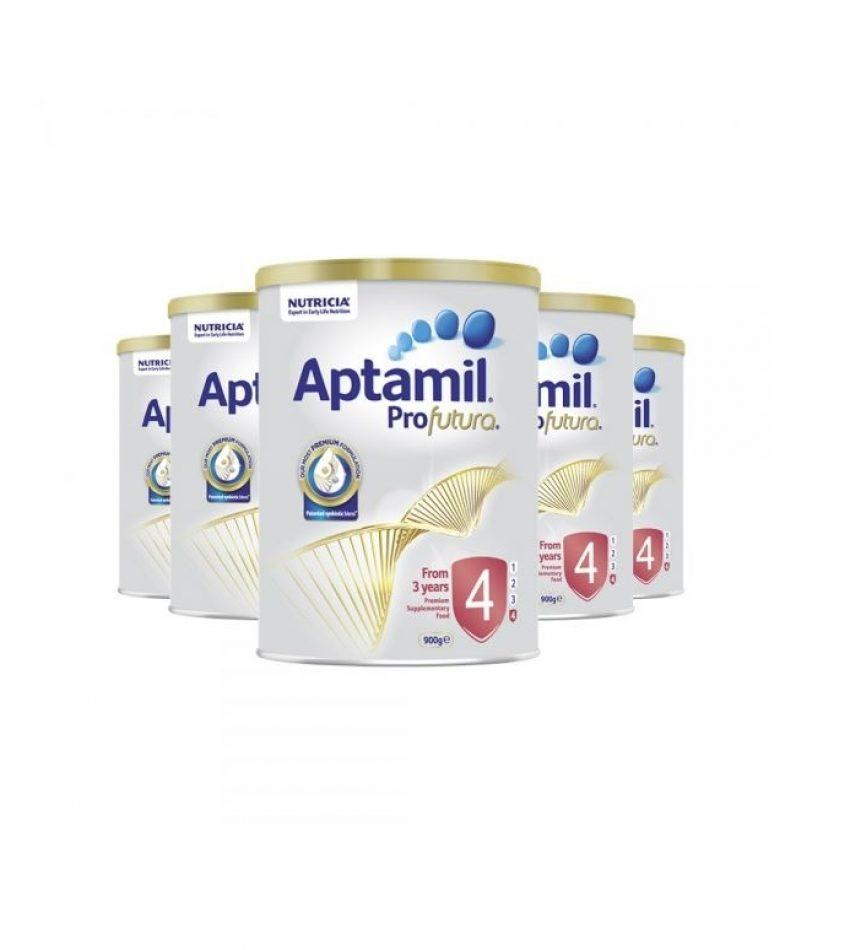 【包邮】Aptamil爱他美 铂金装婴儿配方奶粉 4段*6罐(3岁以上)(22年11月到期)