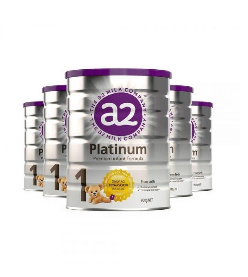 【包邮】a2 白金系列婴幼儿奶粉 1段*6罐(0-6个月)(22年5月到期)