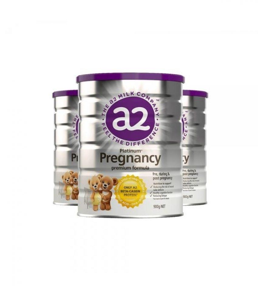 【包邮】a2 孕妇奶粉 怀孕期哺乳期补充 900g 3罐(22年2月到期)