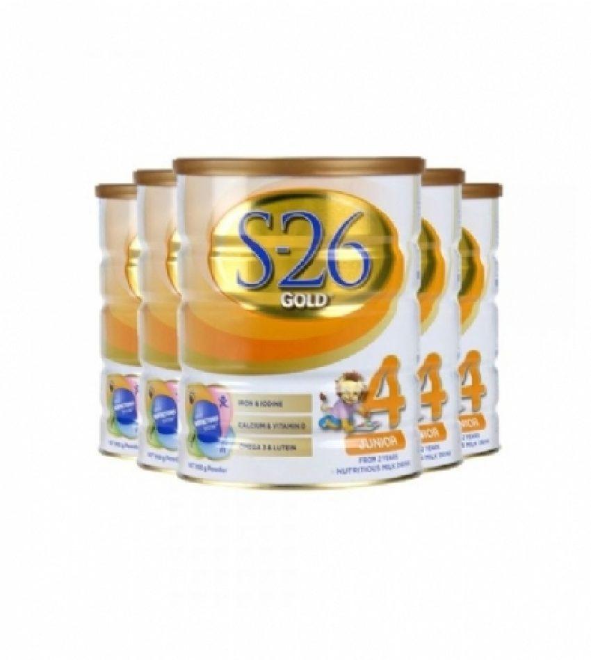 【包邮】 S26惠氏 金装婴幼儿奶粉 4段*3罐 适合2岁以上宝宝(22年7月到期)