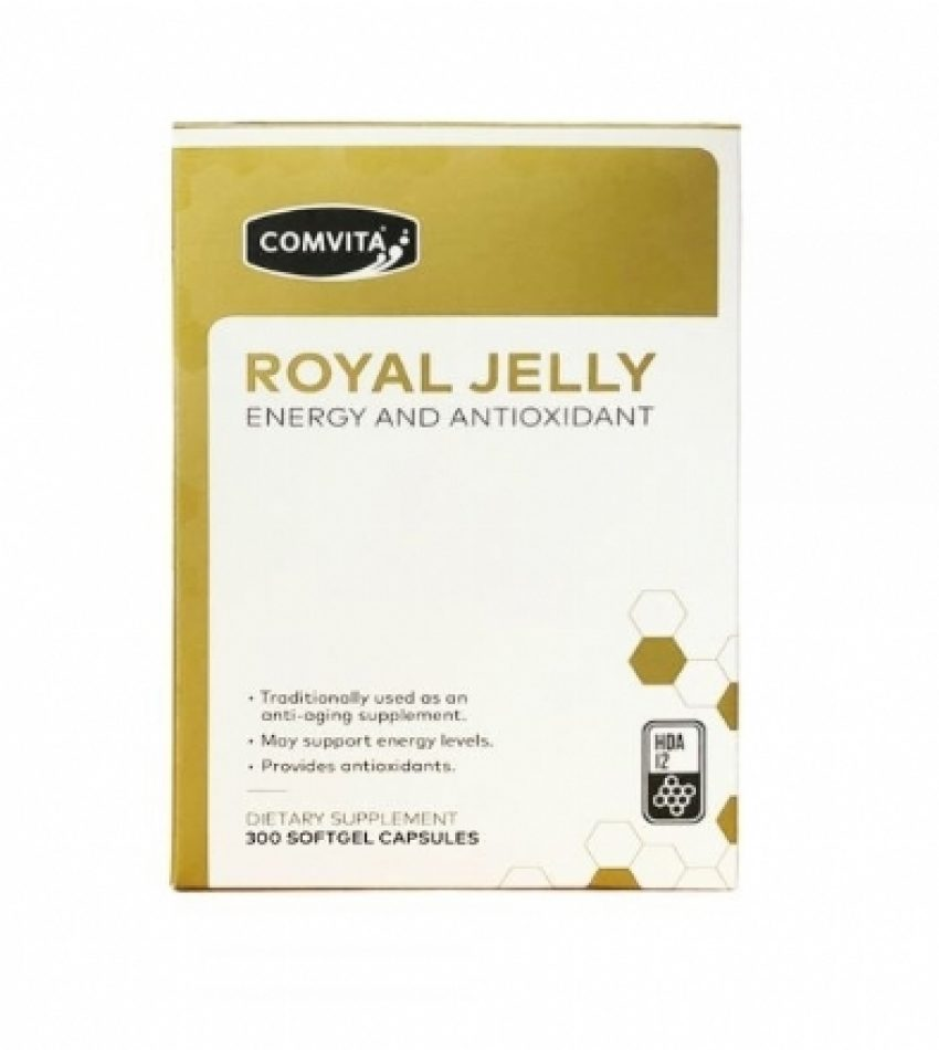 Comvita康维他 蜂王浆胶囊 HDA12 300粒 Comivta Royal Jelly 300Cap(22年5月到期)