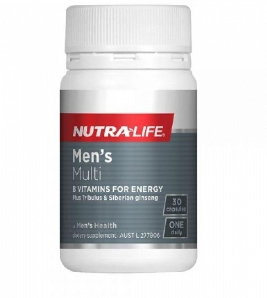 Nutralife纽乐 男性复合维生素 30粒