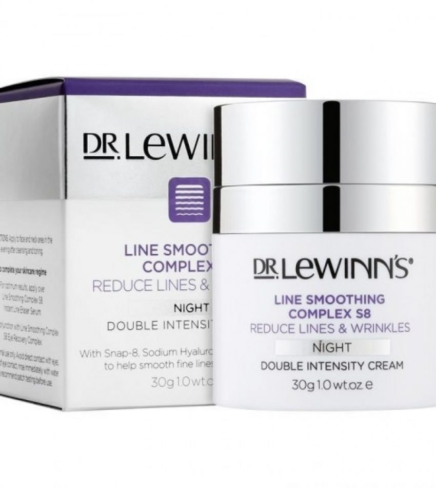 DR. LEWINN'S莱文医生 S8八胜肽紧致祛皱双倍强度晚霜30g(买一瓶送一包眼膜 数量有限 送完为止)