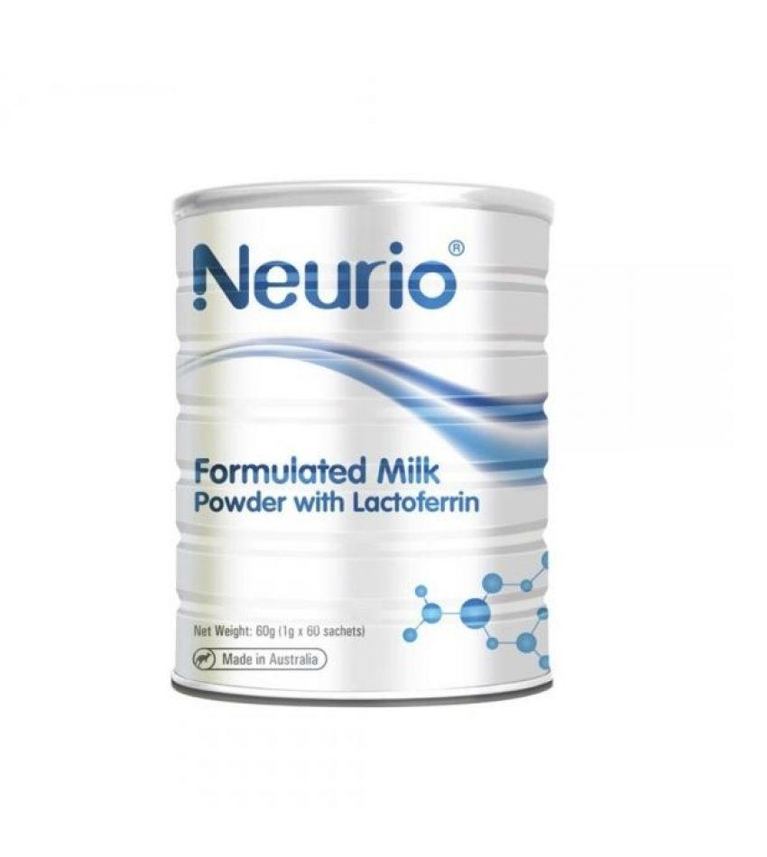 Neurio纽瑞优 婴幼儿乳铁蛋白粉 增强免疫力 60小袋*1g (包邮包税)(22年12月到期)