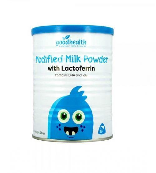(包邮)Good Health好健康 乳铁蛋白调制乳粉 modified milk powder with lactoferrin 260g(22年5月到期)
