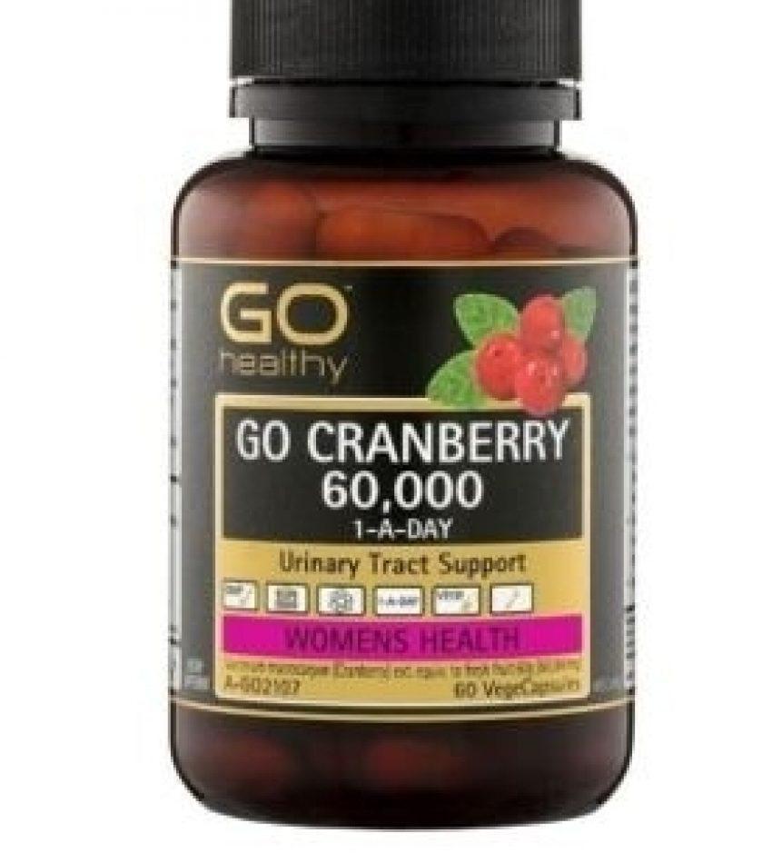 GO Healthy高之源 蔓越莓 60000mg 60顆 Cranberry