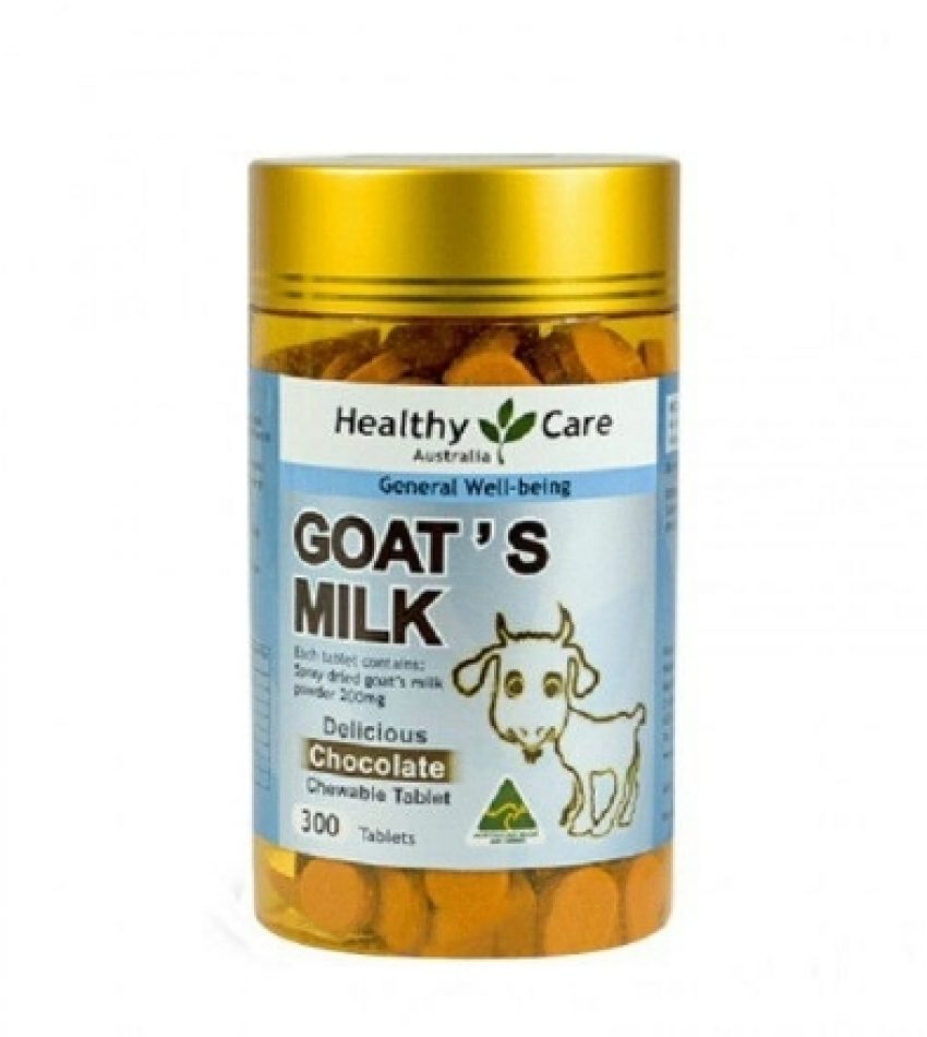 Healthy Care 羊奶片 巧克力味 增强体质补钙 300粒
