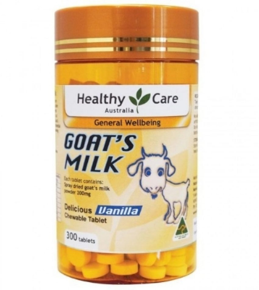 Healthy Care 羊奶片 香草味  300粒