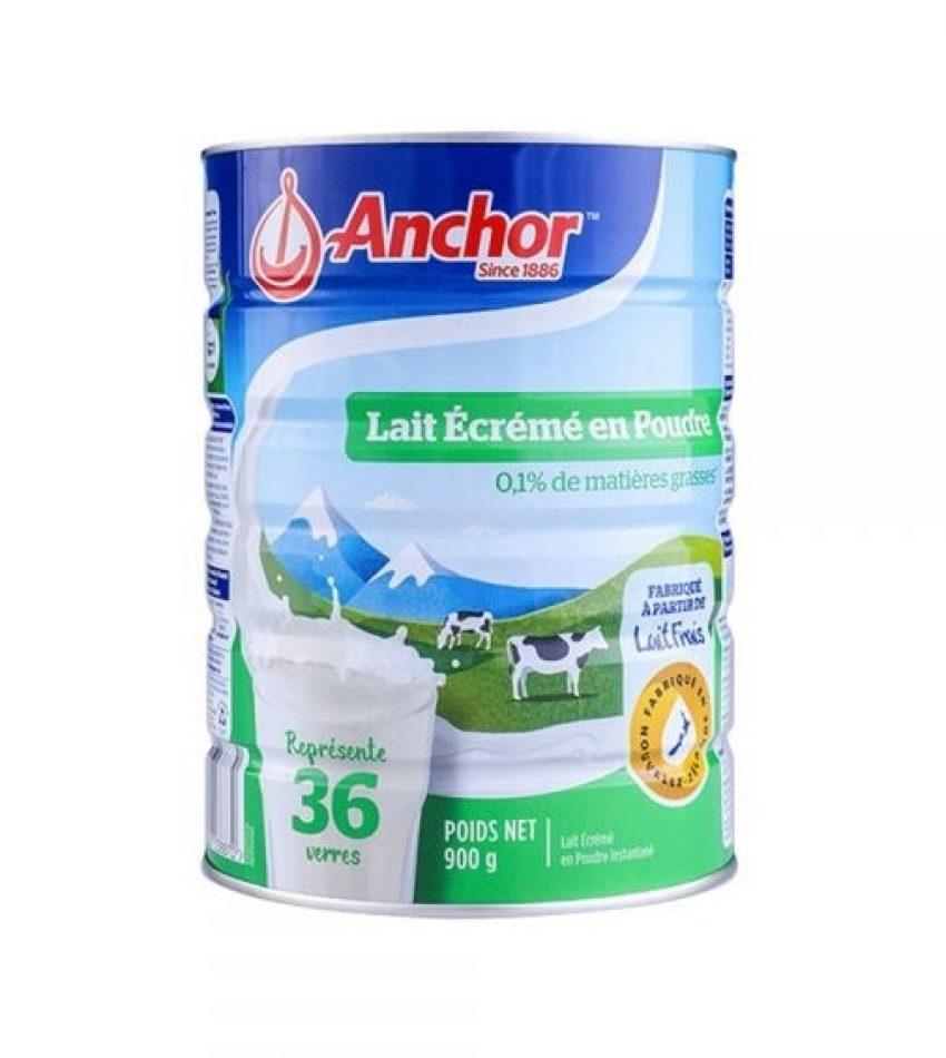 【包邮】Anchor安佳 罐装脫脂奶粉 Skim Milk Powder 高钙高营养 900g 6罐装(22年11月到期)