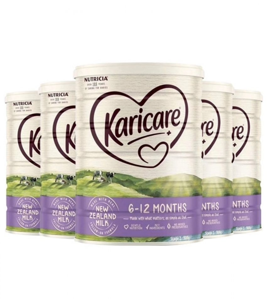 【包邮】Karicare可瑞康普通装2段奶粉*3罐(23年1月到期)